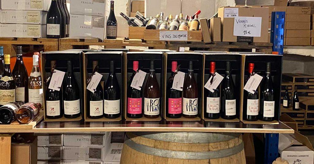 box vin cadeau fete des peres