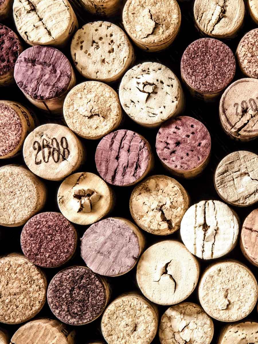 bouchons de vins